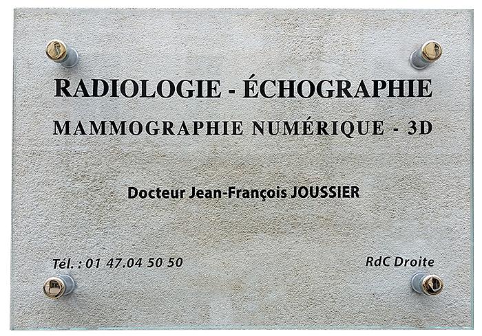 Docteur Joussier radiologie échograhie à Paris 16